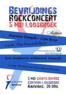 Bevrijdings Rockconcert 2015